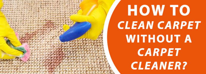 How to Clean Carpet without a Carpet Cleaner?