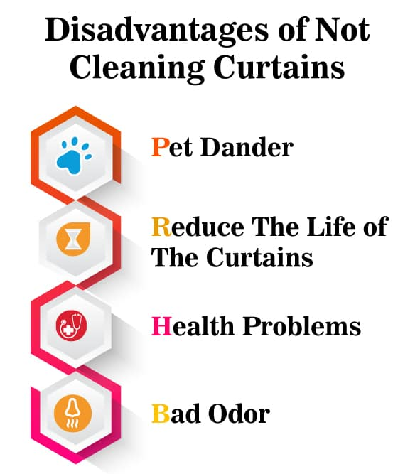 Disadvantages Of Not Cleaning Curtains